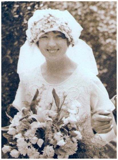 1925 Wedding Headdress