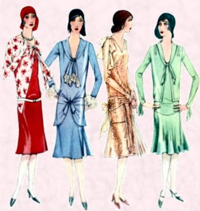 Fashion history at fashion-era - 1929 Mccalls dress patterns