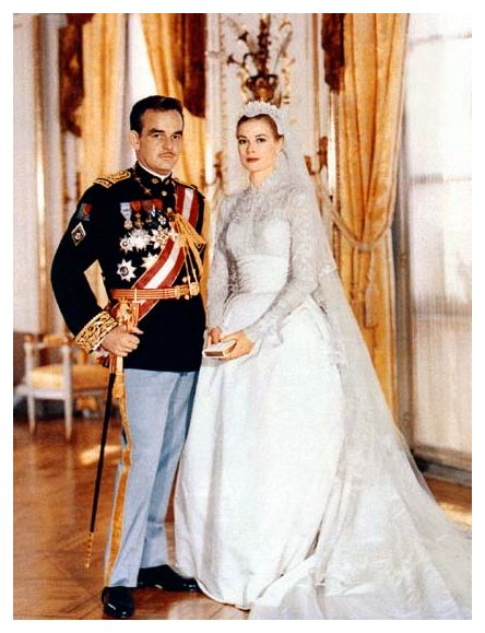 Grace Kelly's wedding dress was designed by Helen Rose, wardrobe