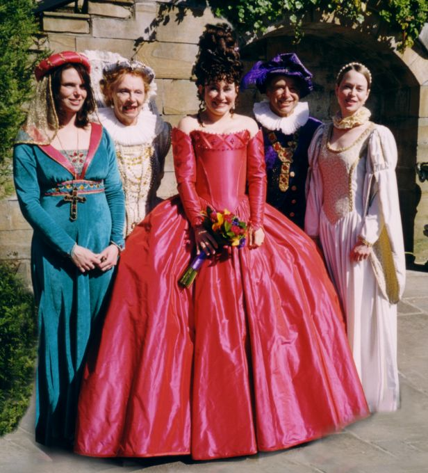 A Themed Elizabethan Fancy Dress Wedding Photos Page 1