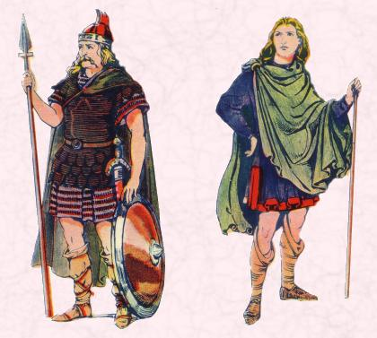 Early Clothing in Costume History - Saxon, Frankish and Anglo ...
