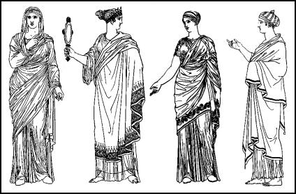 Female Costume And Fashion Of Ancient Greece