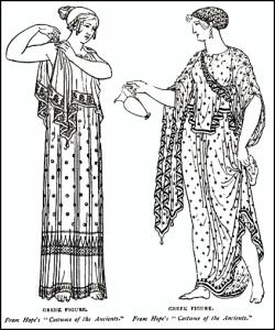 Clothing of Ancient Greek Women