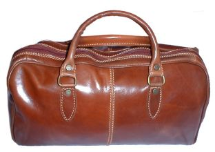 Floto Italian Leather Bags The Venezi Mini 15 Inches Long