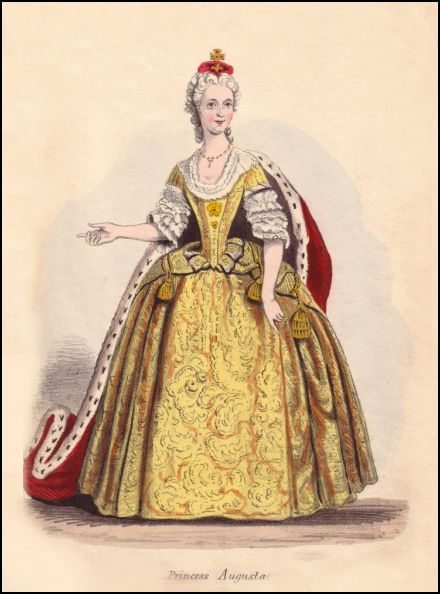 and narrow giving the dress an Elizabethan feel, but for the sleeves.