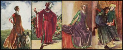Medieval Surcoats & Houppelande - Costume