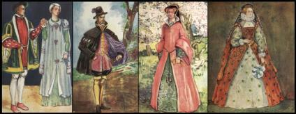 C16Th Fashion For Shakespeare - Queen Mary & Queen Elizabeth I
