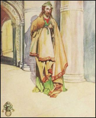 Man in 1100-1135 - Male Cloak and Costume