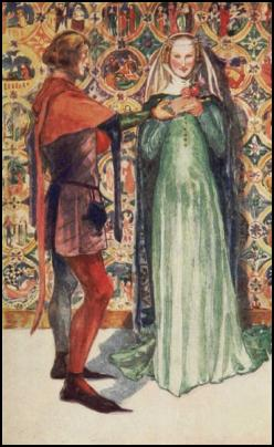 Lady and Man - Costume History - 1307-1327.