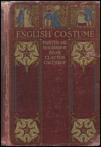 Dion Clayton Calthrop English Costume Book Cover
