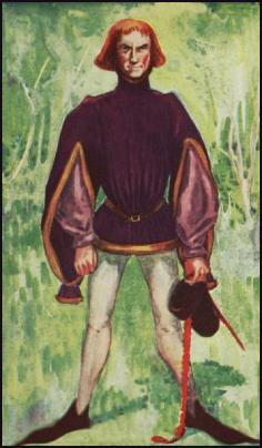 Medieval Costume - Man's Short Tunic and Tights Hosiery