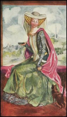1413-1422- Henry V Lady in Surcoat and Under Gown