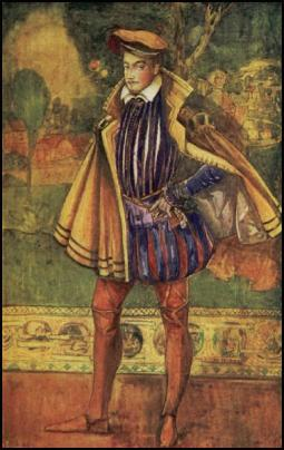 Man In A Spanish Cloak & Doublet