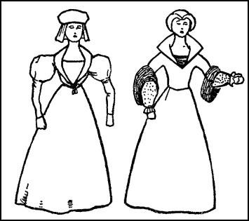 Gown Collars of 1550