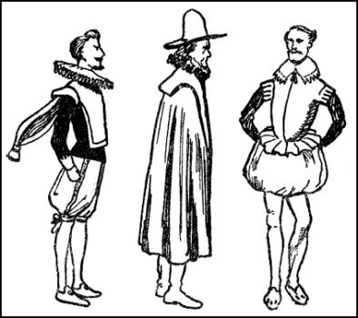 Clothes of Common People in Elizabethan Era