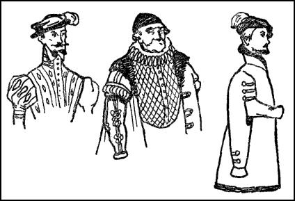 Tudor Partlet Strip - Doublet
