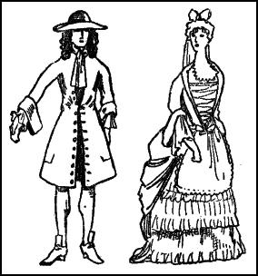 Early 1700s Clothing