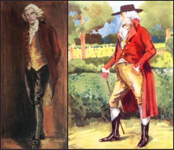 Near Left Menu0027s Costume 1760-1820 & King George III - 1760-1820 Georgian Menu0027s Coats | English History ...