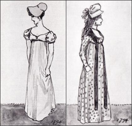 GOWNS 1794