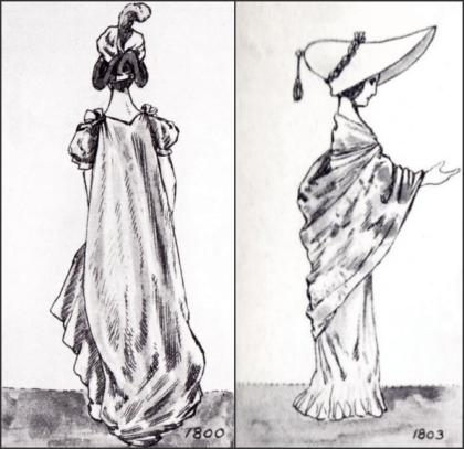1800-1803 - GOWNS
