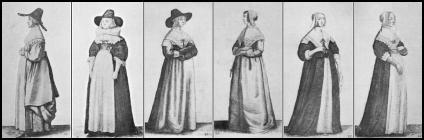 Womenu0027s Dress of the 17th Century  sc 1 st  Fashion Era & Wenceslas Hollar English Womenu0027s Dress in The 17th Century   Page 4 ...