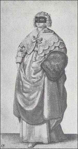 Image 13 - Lady With Mask And Muff