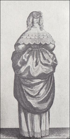 Image 16 - 1640s - Lady With Fair Hair From The Back