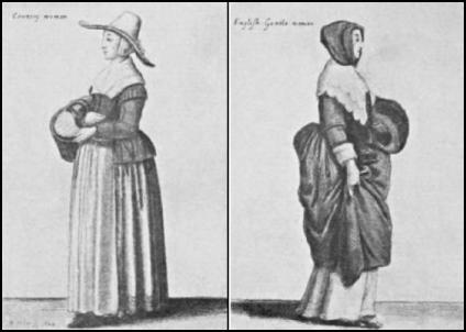 Hollar 17th Century Country Women