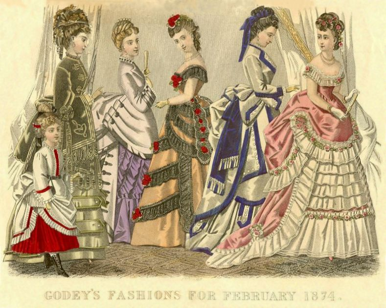Le Follet Victorian Fashion Plates And Costume Plates