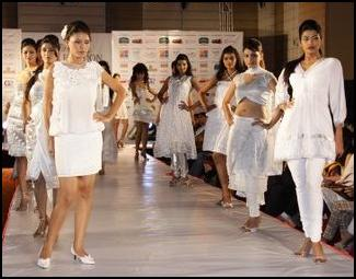 White on the Catwalk