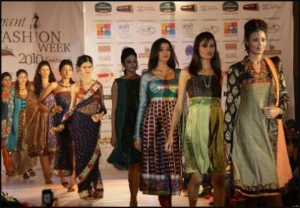 Indian Fashion Catwalk