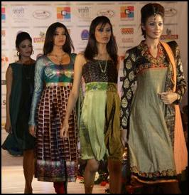 Vibrant Fashion Week 2010 in India