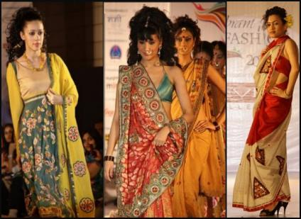 Indian Fashions - Saris.