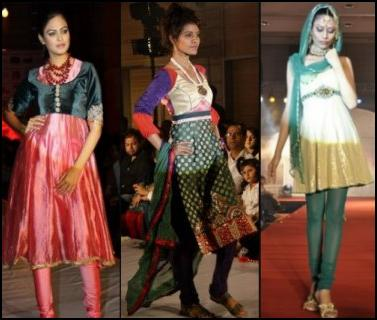 Indo Western Fashion - The Salwar Kameez - Asian Pyjama Churidar Leggings