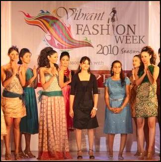 Catwalk Photo of Vibrant Fashion Week 2010