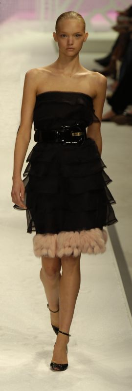 2006 Fur Fashion Trends Spring 2006 Fashion Looks In