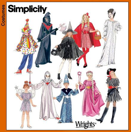 Pattern 4012 · Simplicity Pattern 4860  sc 1 st  Fashion Era & Childrenu0027s Sewing Patterns for Fancy Dress Costumes