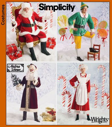Christmas Craft Customs - Simplicity Sewing Pattern 5373 for ...