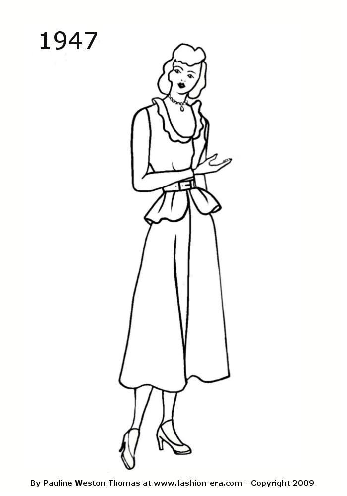 1950glamourwomandresssilhouette1000jpg