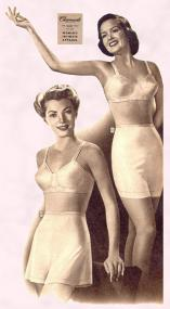 1940s - New pants, bloomers and briefs were in Charmode fabric