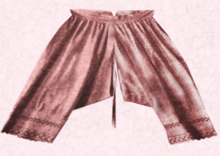 Undergarments History | Women's Pants, Drawers, Briefs and ...