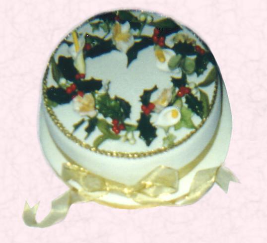 Cake Decoration How Make : Christmas Tradition - Sugar Modelling Paste Cakes (USA ...
