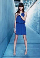 This £35 blue one shoulder jersey dress is from Warehouse Spring/Summer 2007.