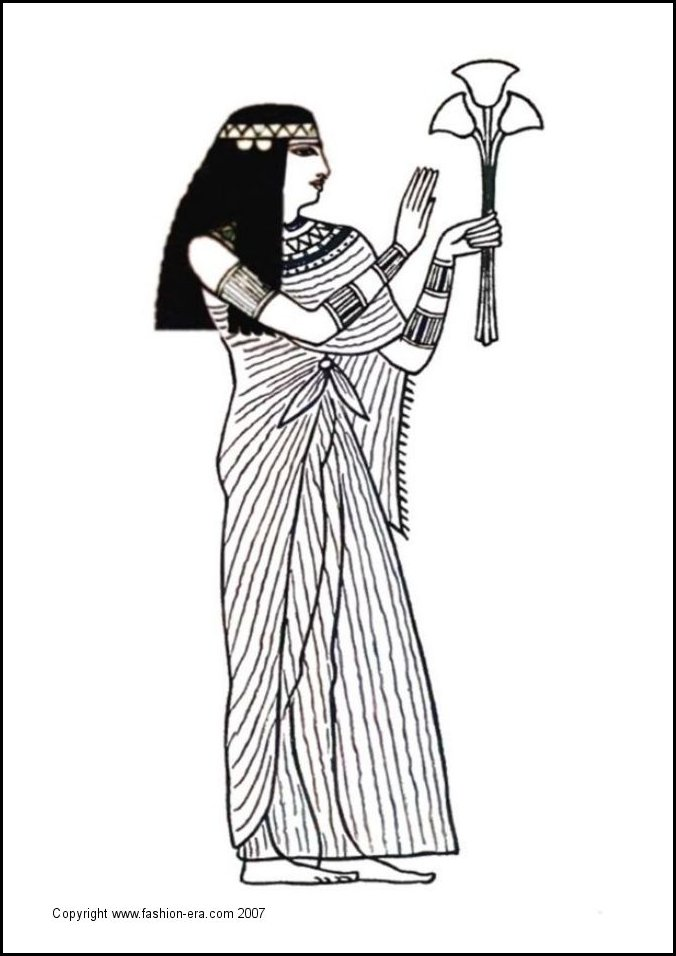 Ancient Costume Fashion Egyptian King Tut Tutankhamun