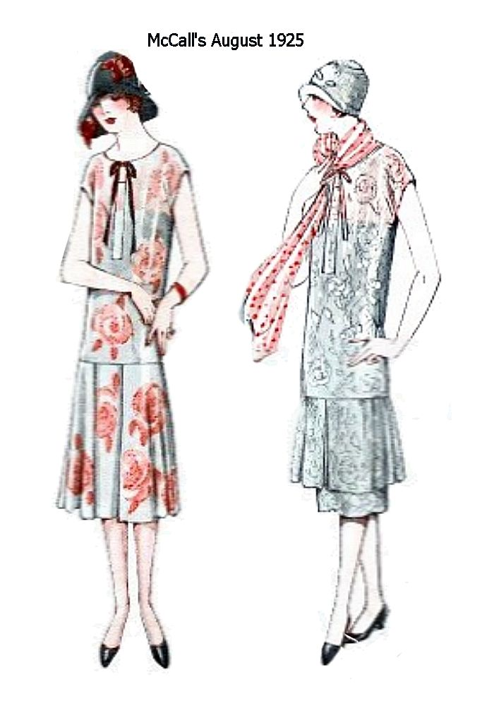 McCalls August 1925 Fashion History Images Part 2 ...