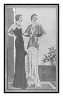 1930s Fashion History Fashion Design Images April 1930