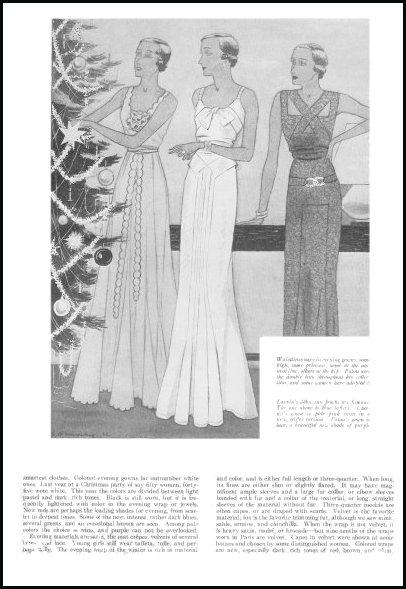 1930s Fashion History Good Housekeeping Fashion Design