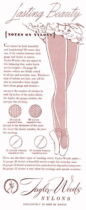 4922d05b6 1950s Stockings and Petticoat Adverts - 50 s Fashion History ...