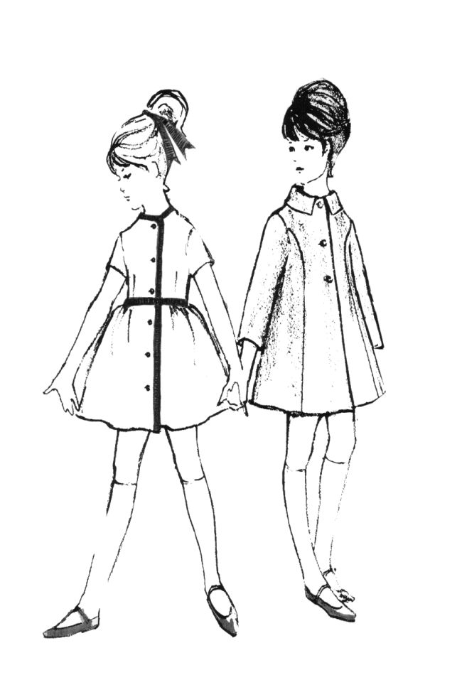 1960s colouring in fashion line drawings for sewing patterns Scotland 1000s Clothing 1960s colouring in fashion line drawings for sewing patterns fashion history costume trends and eras trends victorians haute couture
