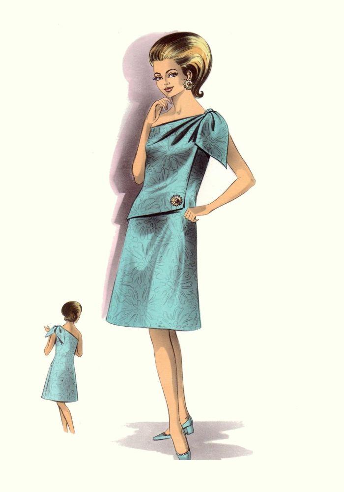 1 Fashion Markets Media: 1964-1967 C20Th Fashion History